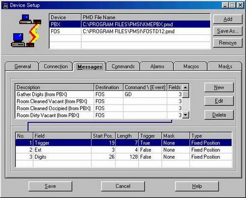 KX A291 292 293 2 PMS интерфейс для гостиничных приложений
