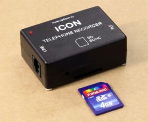54 1 jpg 300x246 Начат выпуск устройств записи телефонных разговоров ICON