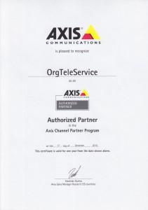 Сертификат AXIS