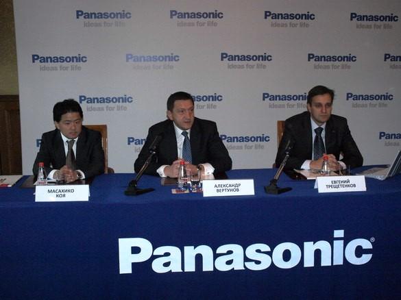 Пресс конференция Panasonic Итоги пресс конференции Panasonic