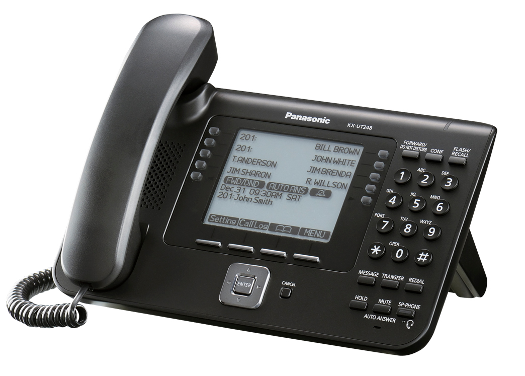kx ut248 2l SIP телефоны Panasonic