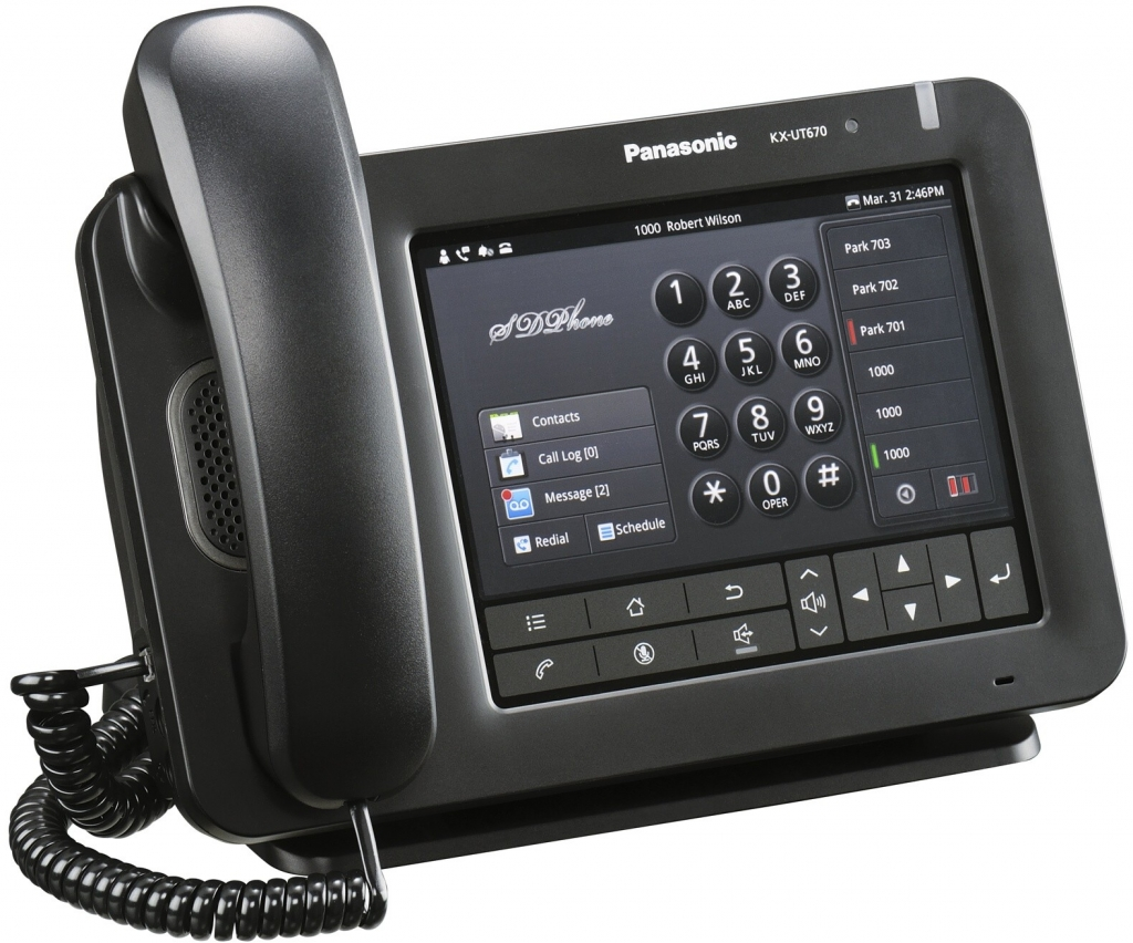 kx ut6701 SIP телефоны Panasonic