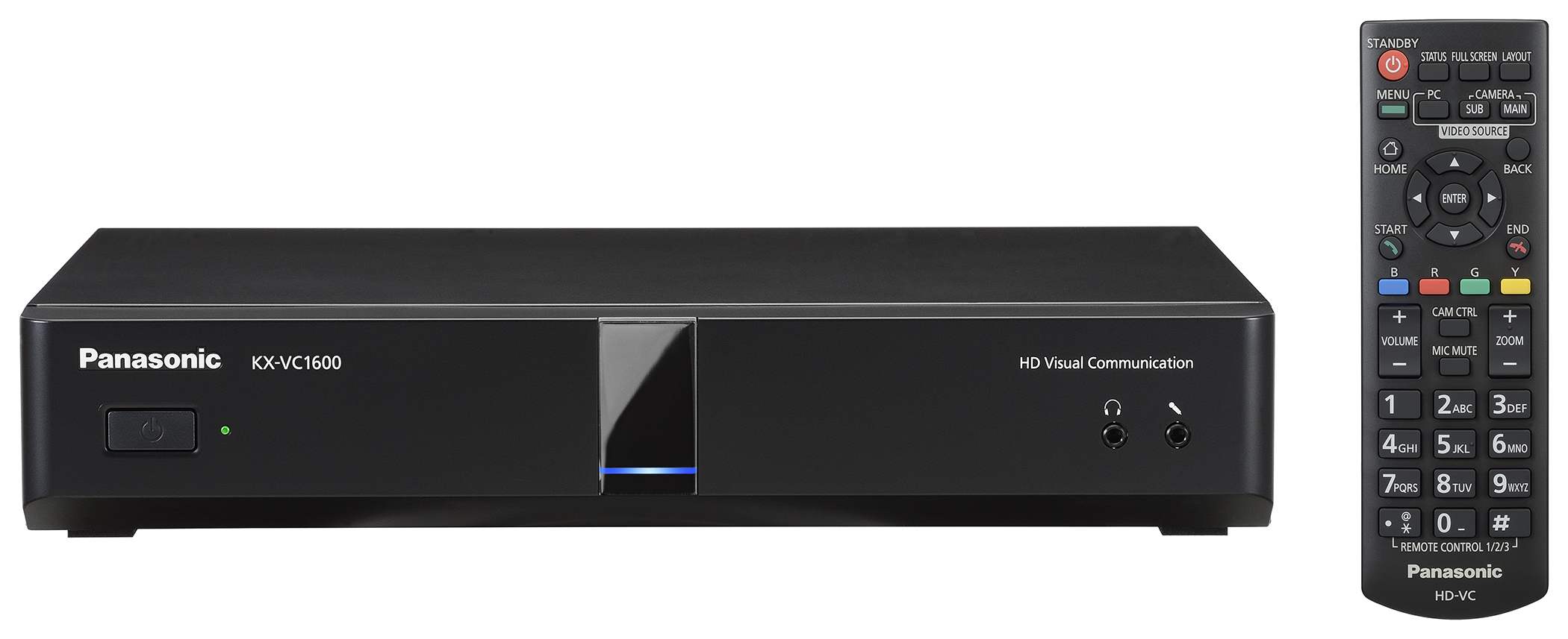 KX VC1600 01 remote english Видео конференц связь
