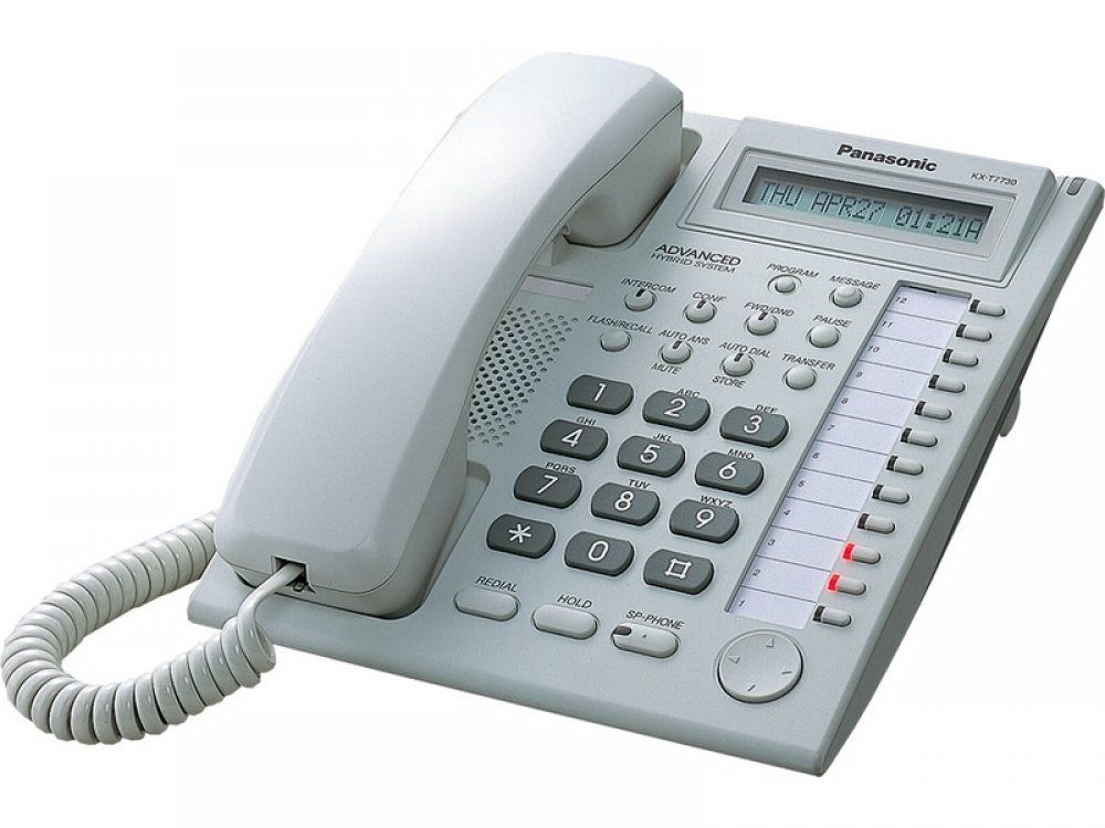 KX T7730 Системные телефоны KX T7700