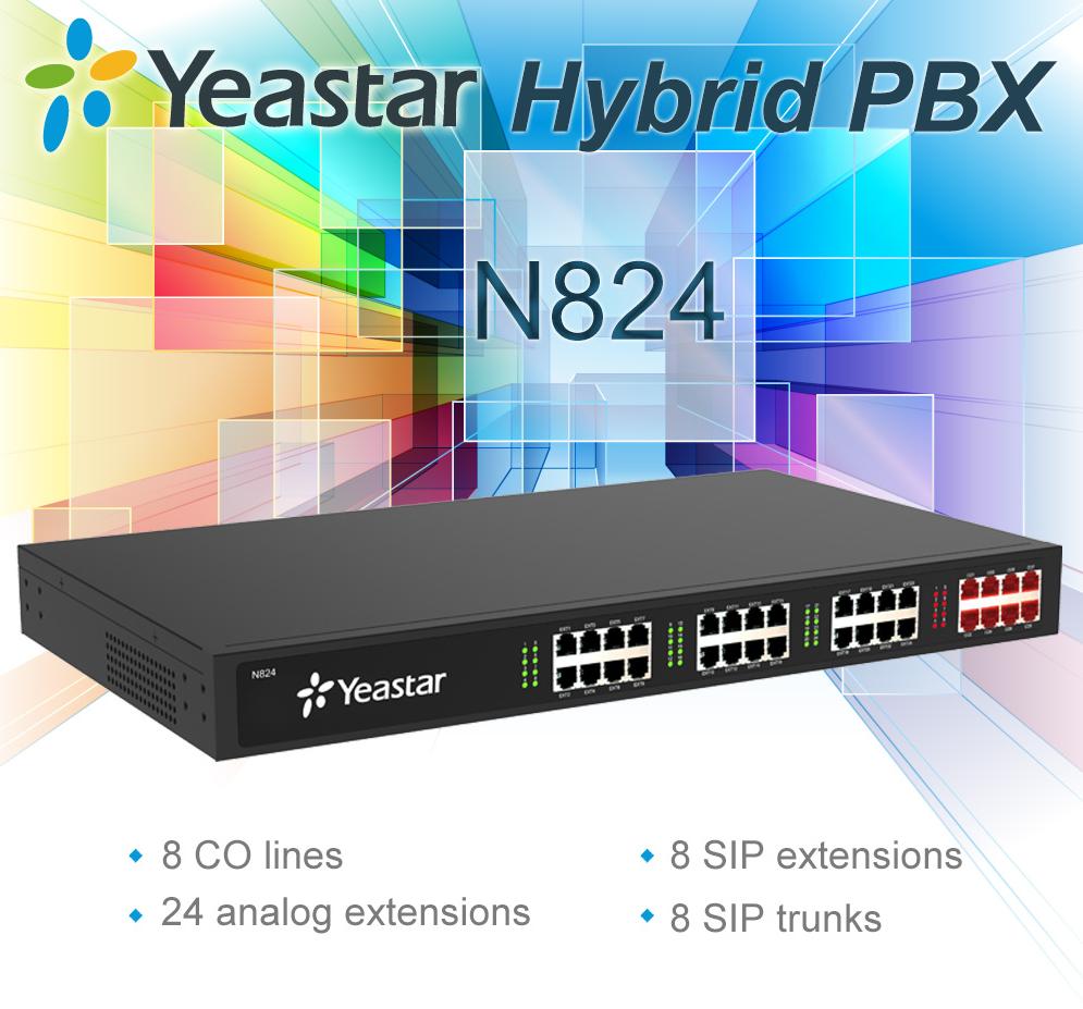 Yeastar N824 New Yeastar N824