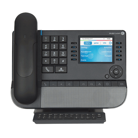 8068s bt premium deskphone f screen 480x480 Решения Alcatel Lucent Enterprise