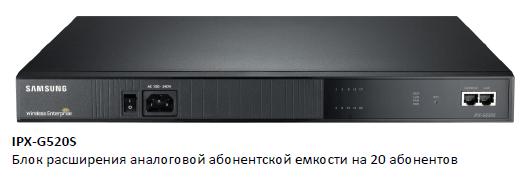Блок расширения IPX G520S SCM Compact