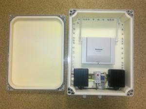 Термоконтейнер с подогревом для уличной (-45..+60) установки DECT базовых станций Panasonic. Цена — 14 850р.