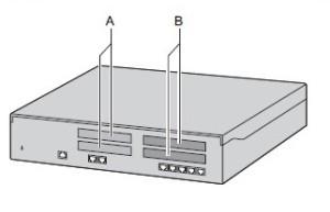 Блок расширения NS500 (вид спереди)